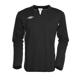 UMBRO Vision Tr Sweat jr Sort/Hvit 152 Teknisk treningsgenser for barn